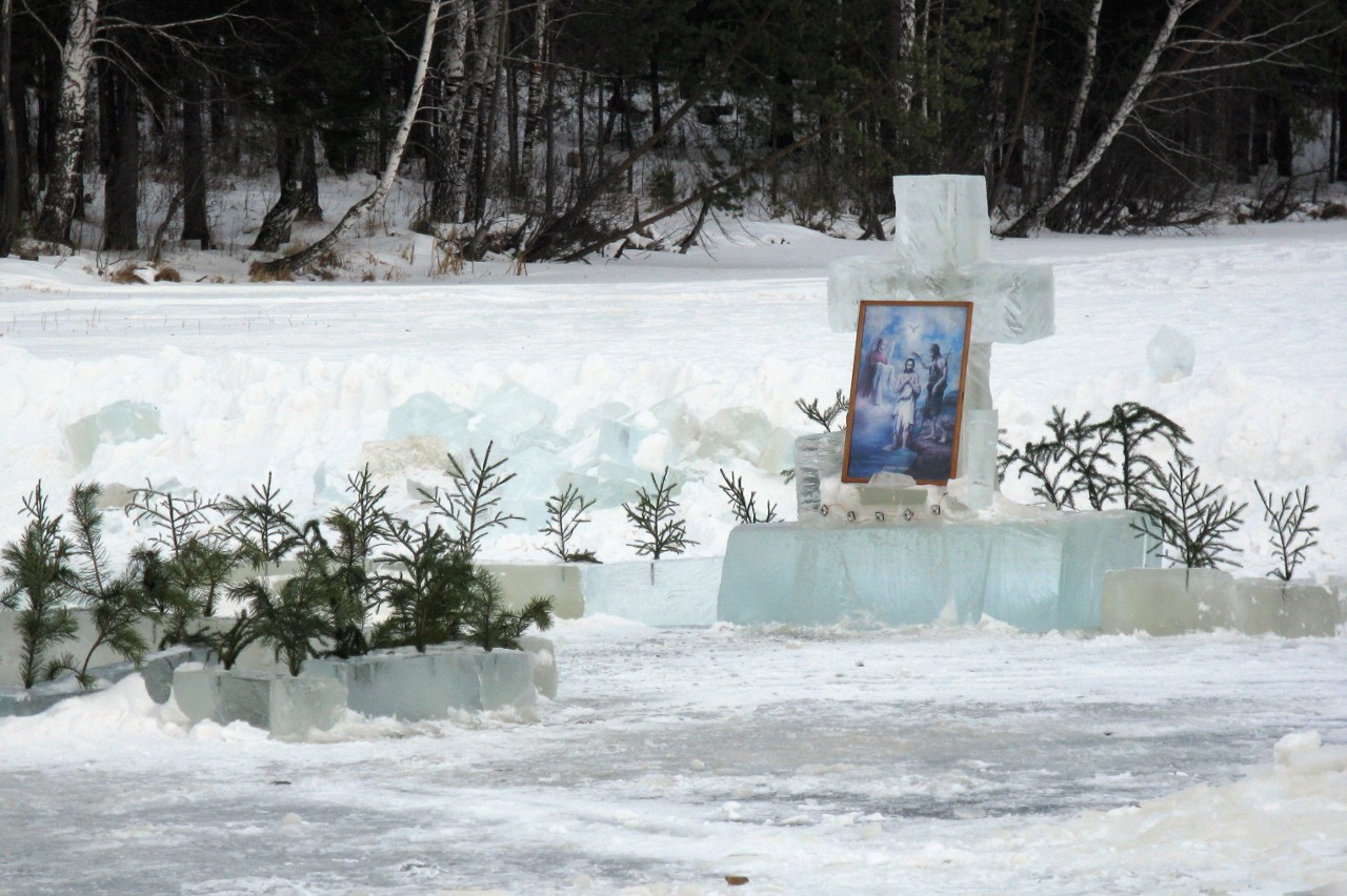 Крещенские купания в Кировграде