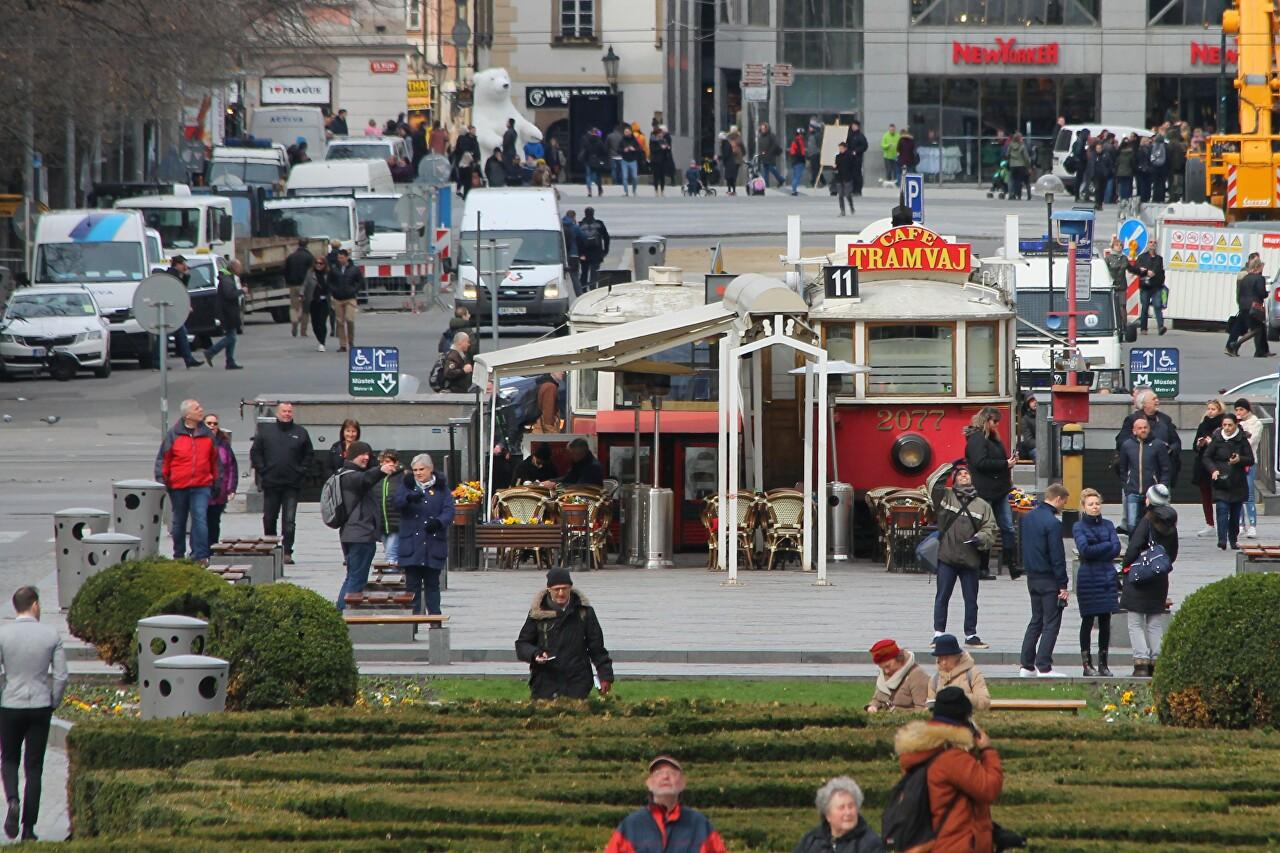 Wenceslas Square (Václavské náměstí), Prague