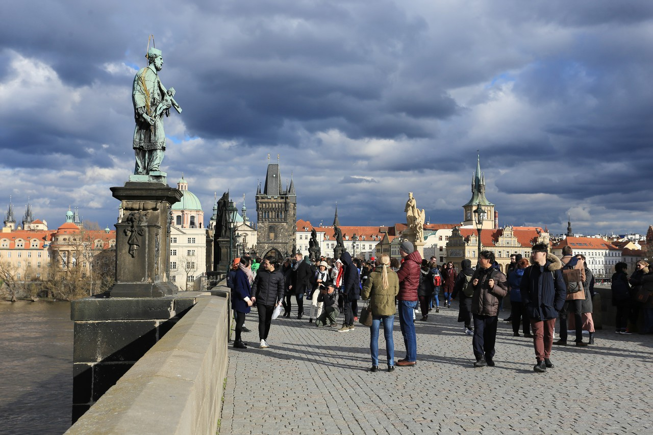 Charles Bridge (Karlův most), Prague