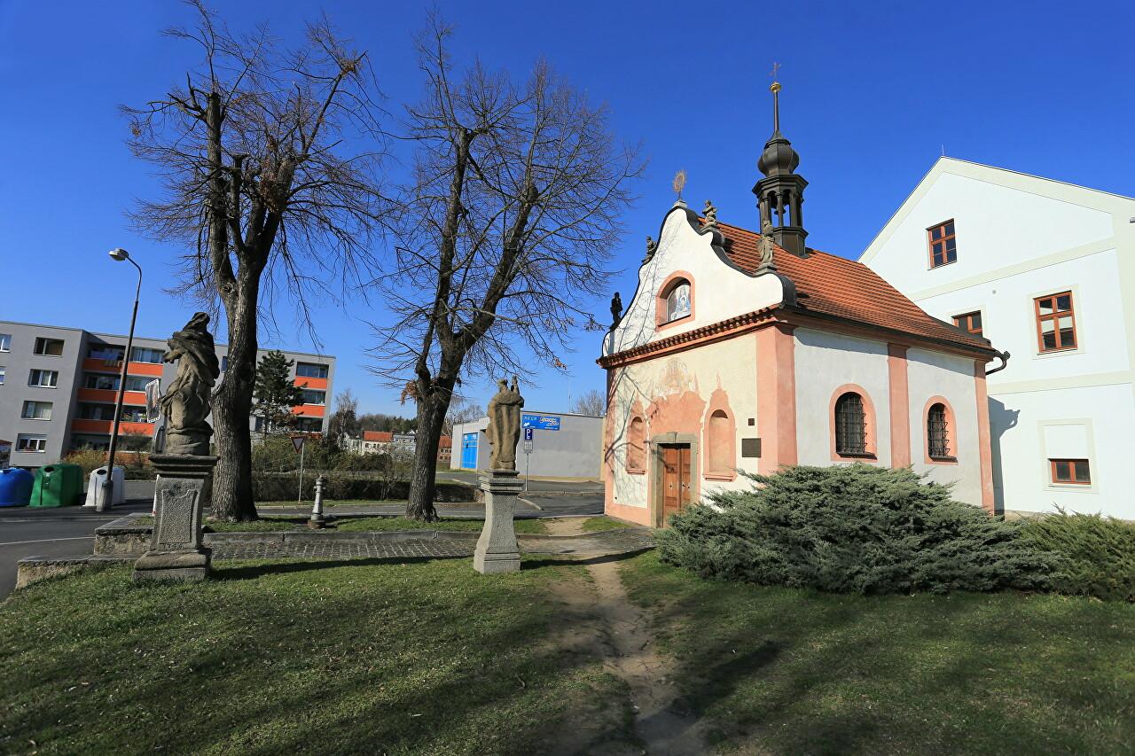 Kaple Panny Marie Klatovské - Chaloupka