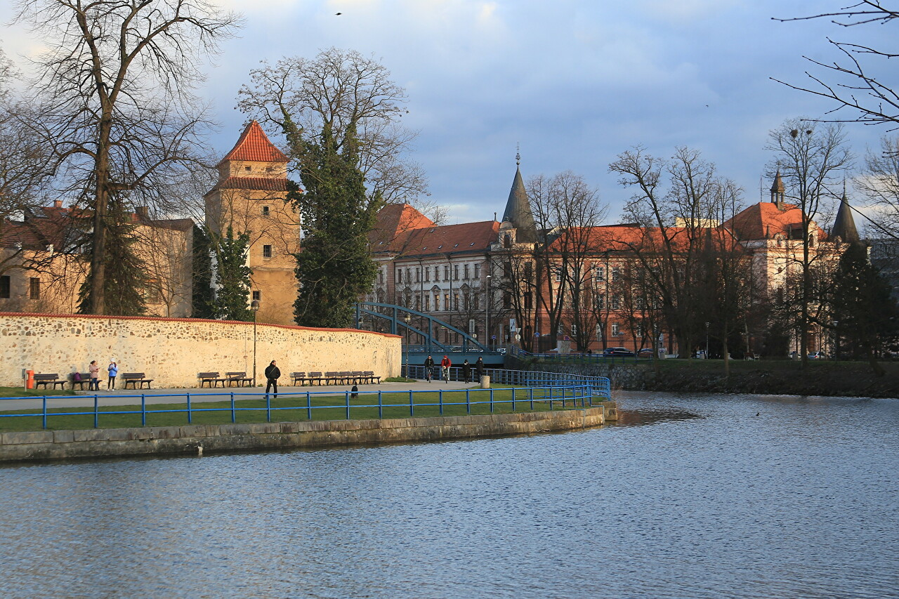 České Budějovice, First Walk