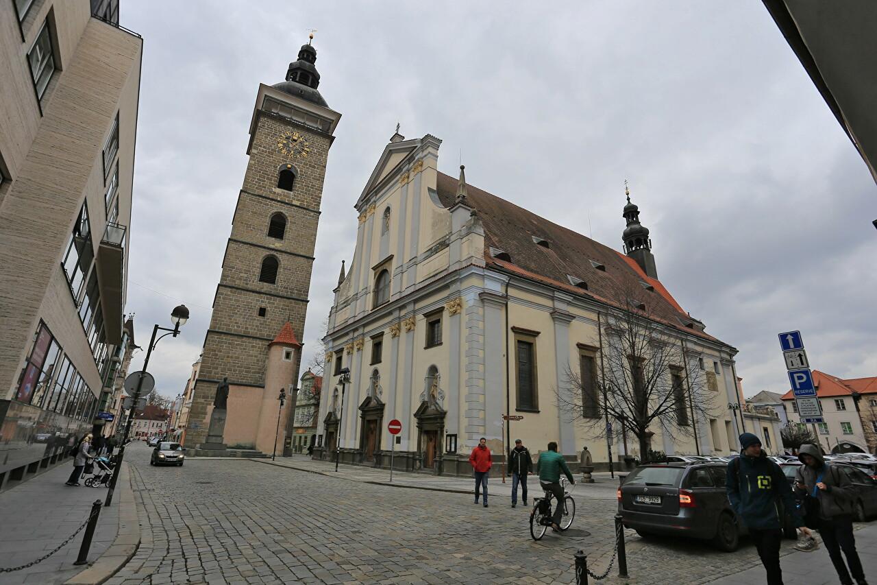 St. Nicholas Cathedral, České Budějovice