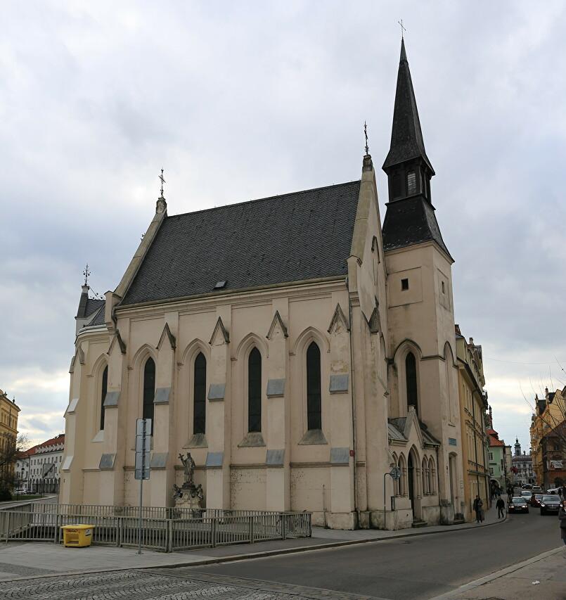 Studentský kostel sv. Rodiny, České Budějovice