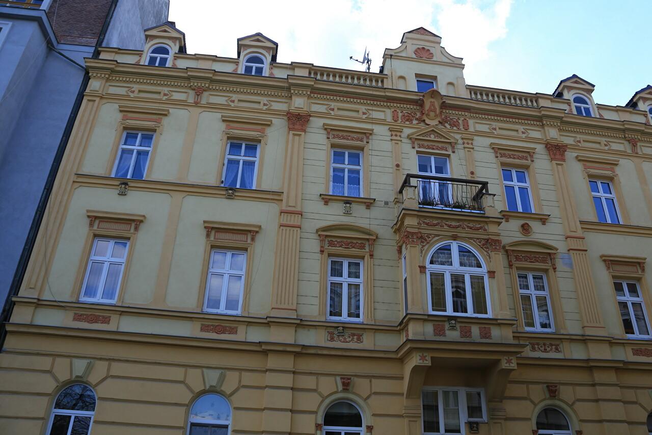 Žižkova Street, České Budějovice