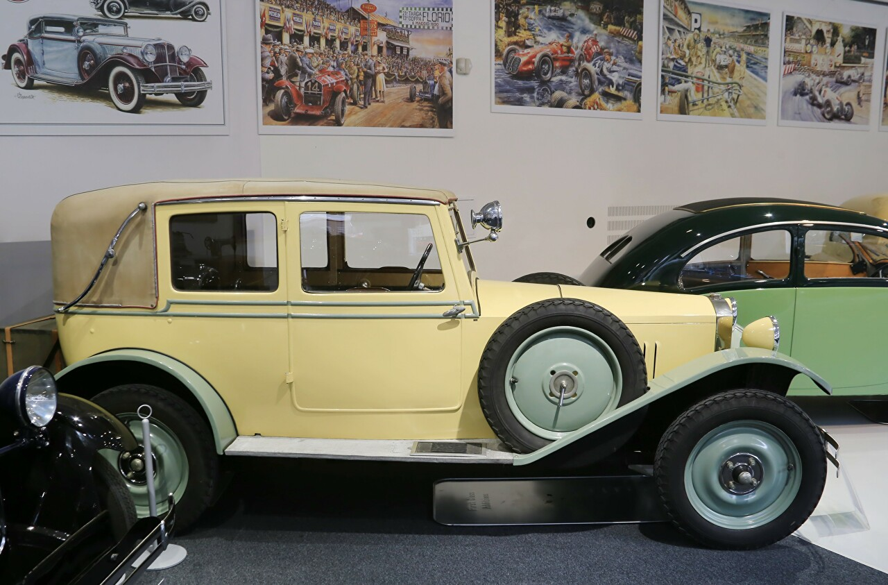 Museum of historical cars 'Veteran Arena', Olomouc
