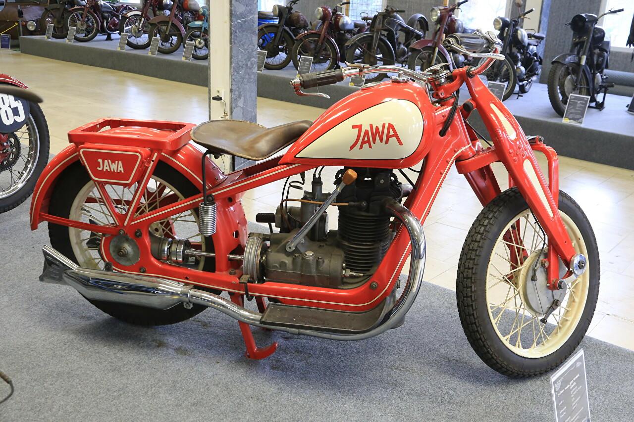 Музей винтажных мотоциклов в Остраве
