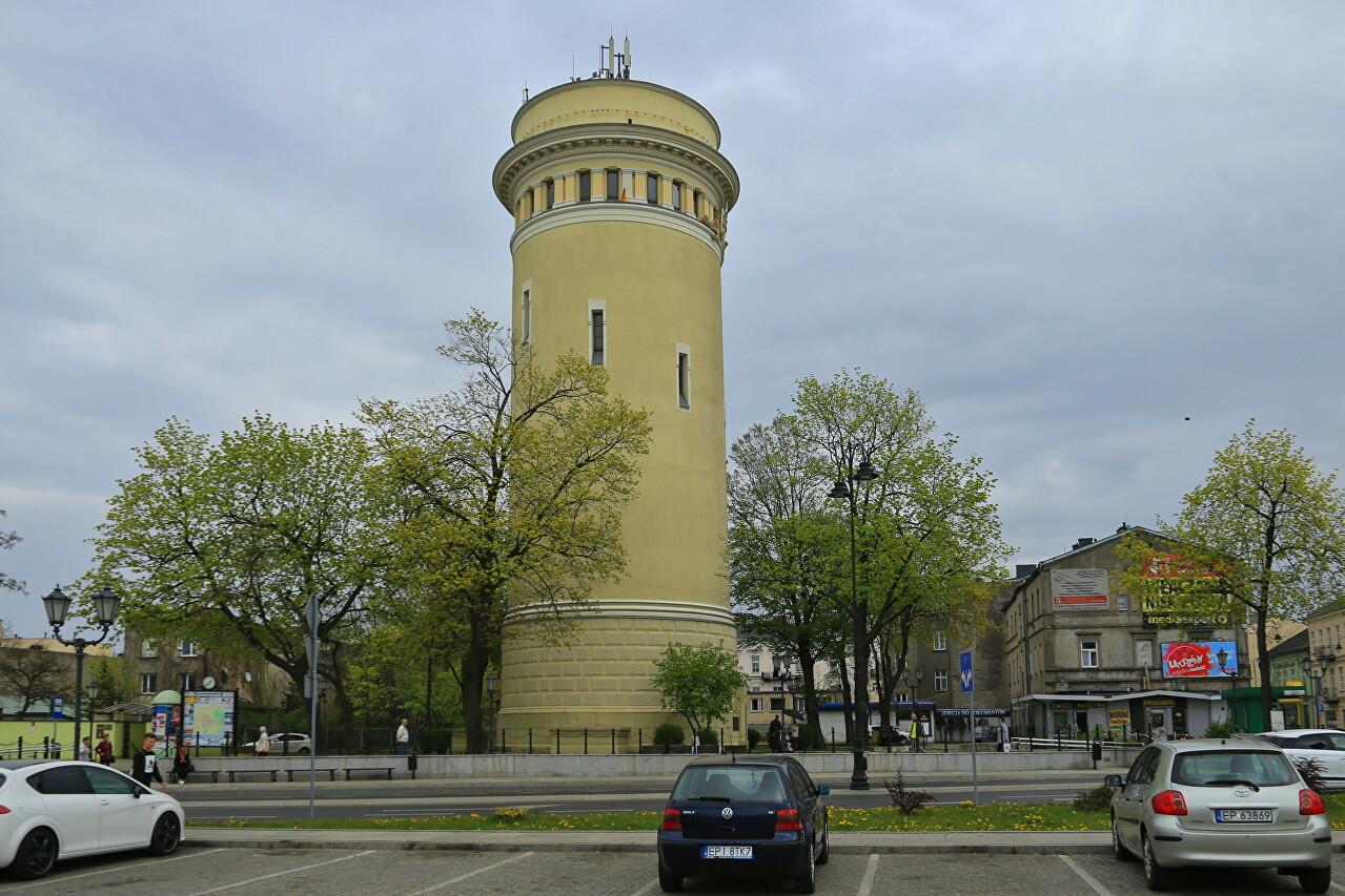 Water Tower in Piotrków Trybunalski