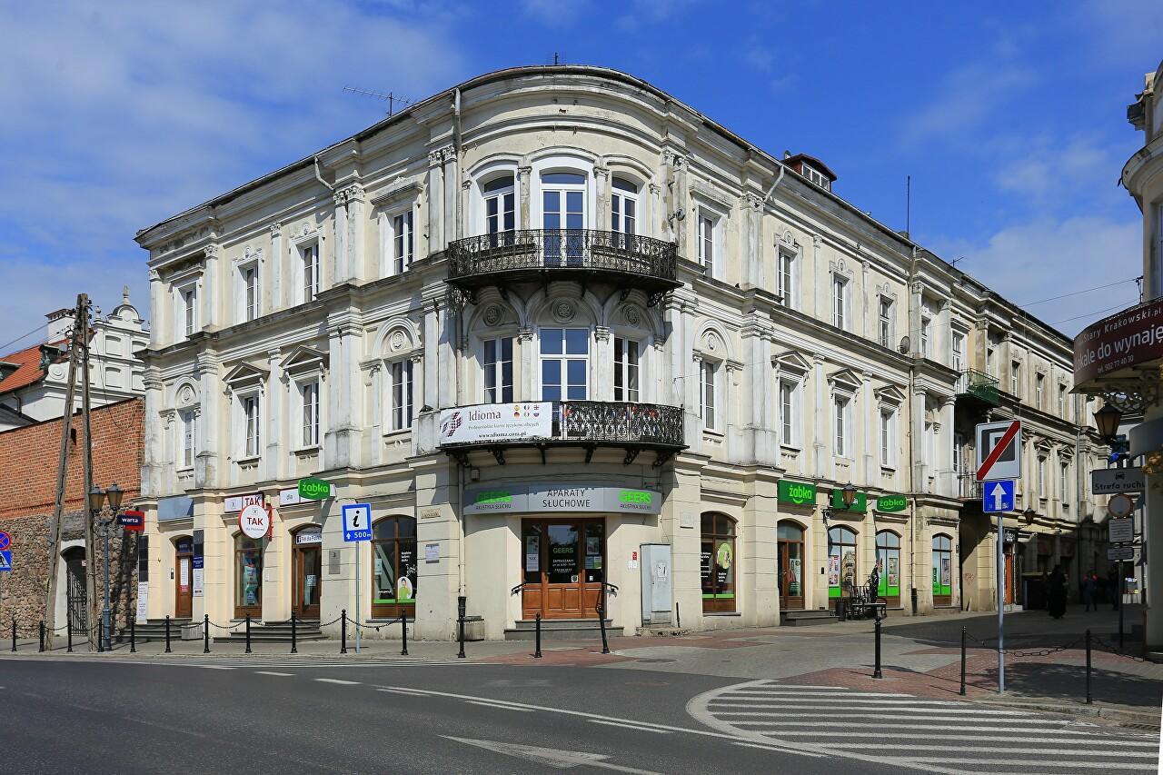 Kramer's bank from the movie 'Vabank' (Złoty Róg)
