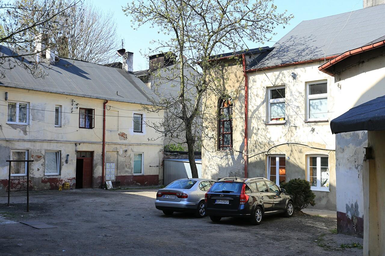 Old Courtyard on Wojska Polskiego 37, Piotrków Trybunalski