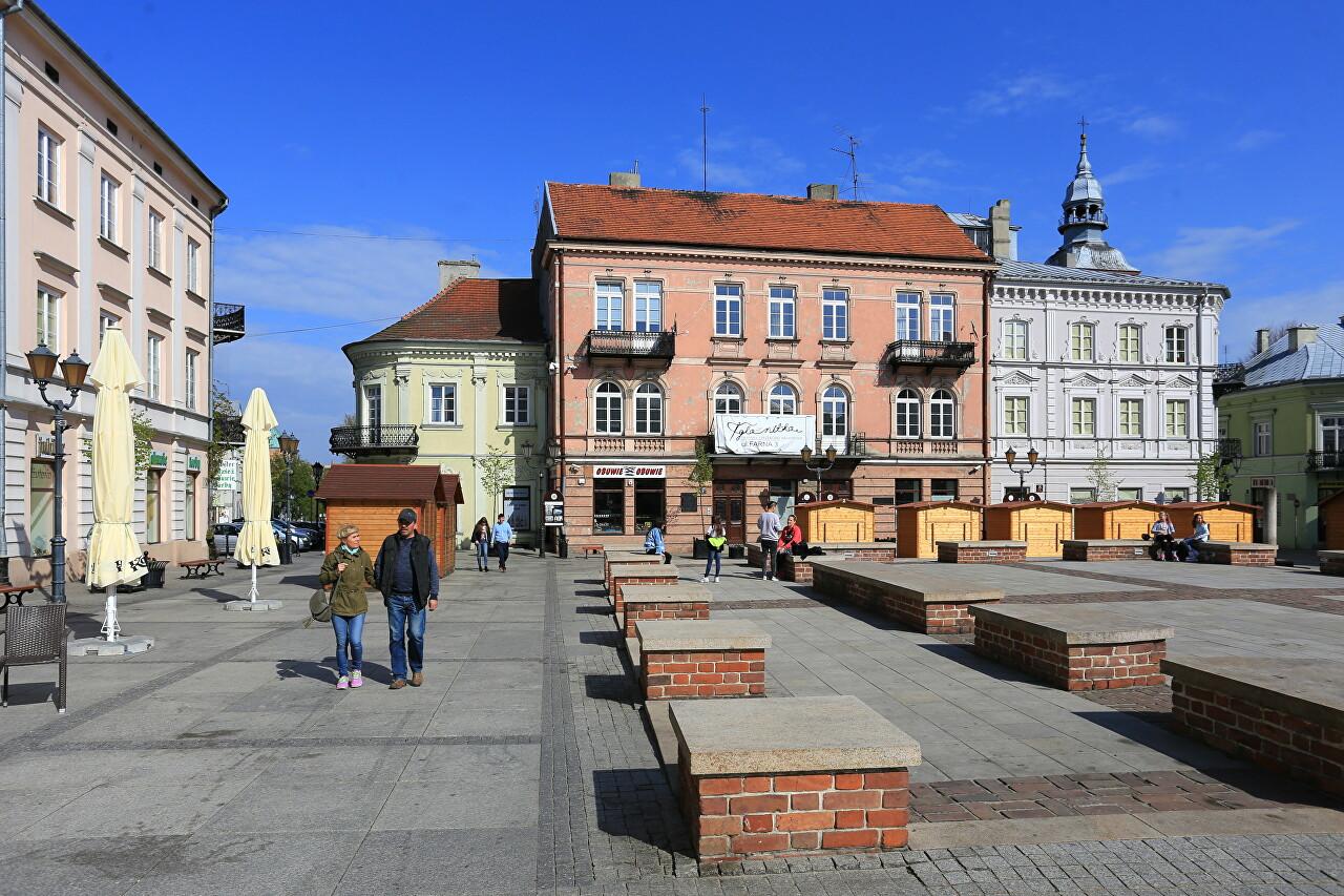 Rynek Square, Piotrków Trybunalski