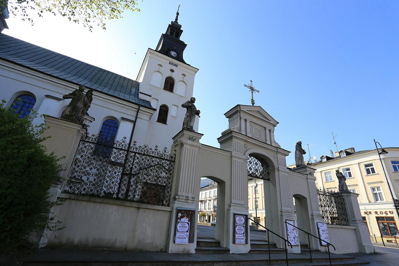 Bernardine Church and Monastery, Piotrków Trybunalski