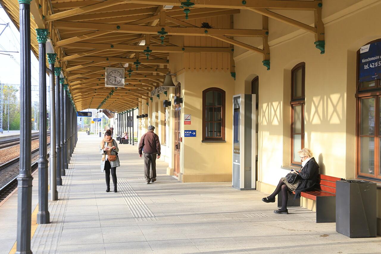 Piotrków Trybunalski Bus and Train Stations