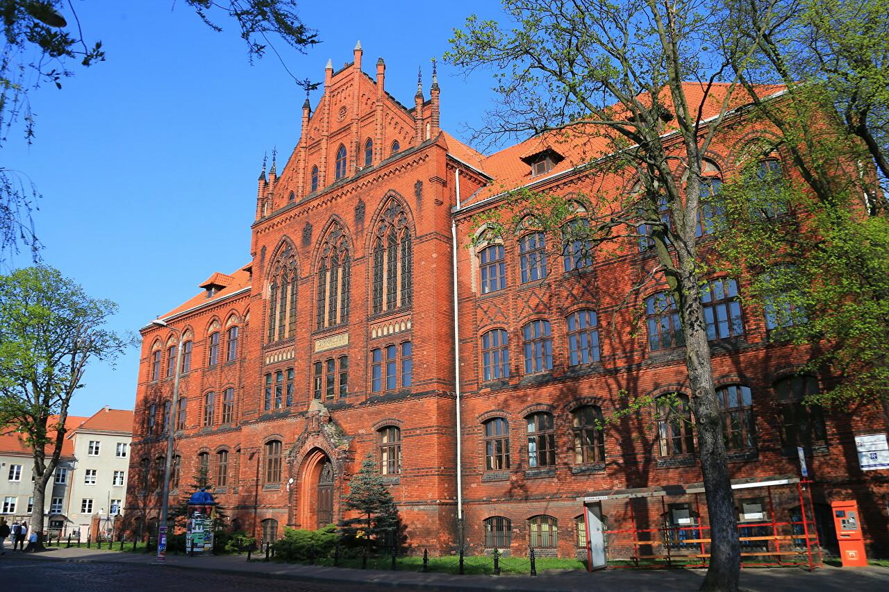 Old Prussian Buildings, Grudziądz