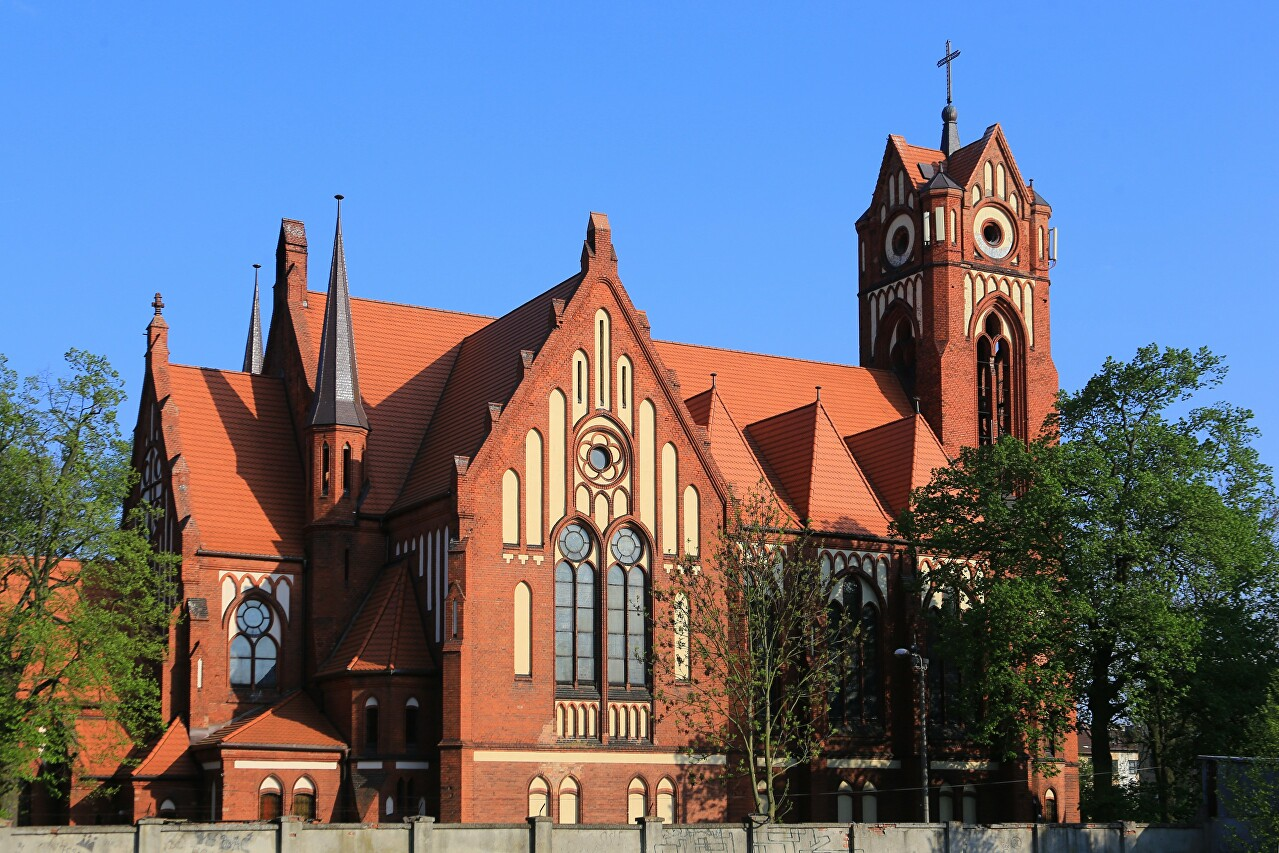 Church of the Immaculate Heart, Grudziądz