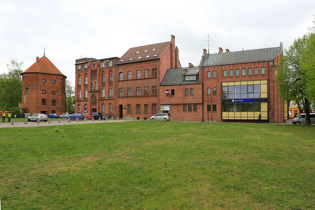 Gdansk Street, Braniewo
