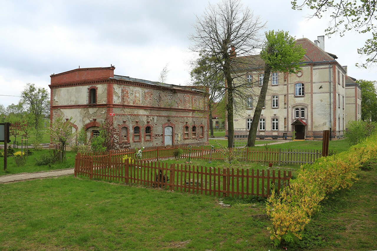 Prussian Buildings on Moniuszki Street, Braniewo