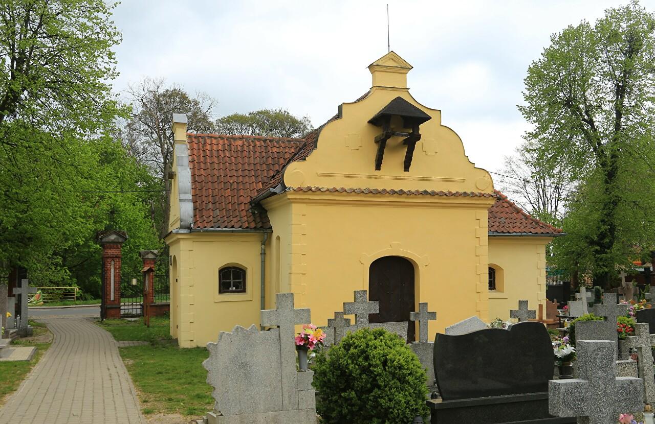 St. Roch capel, Old cemetery, Braniewo