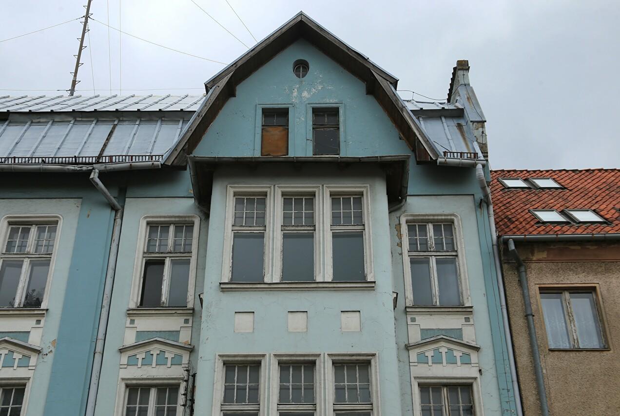 Kosciuszko Street, a building of the early 20th century, Braniewo