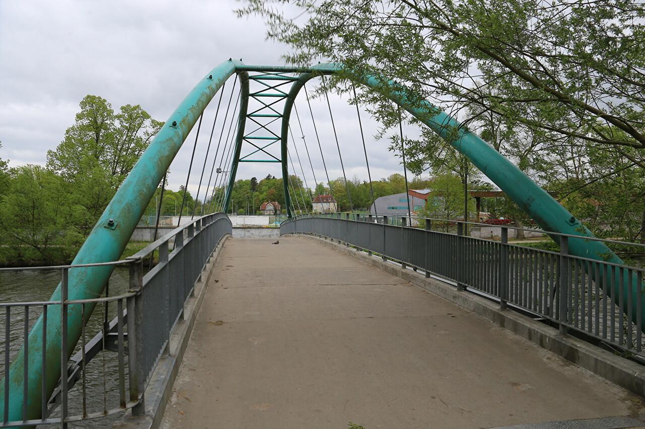 Pasłęka River in Braniewo