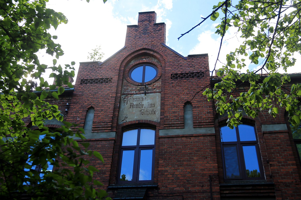 Немецкий жилой дом, начало 20 века, район Амалиенау, Кёнигсберг-Калининград