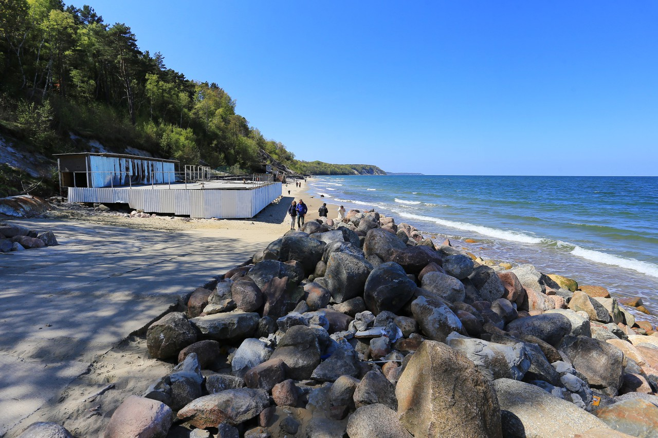 Svetlogorsk. Beach
