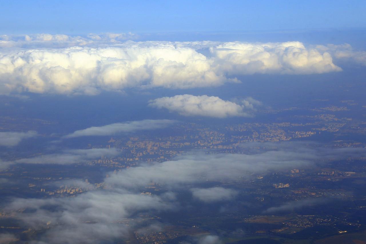 Москва, вид с воздуха