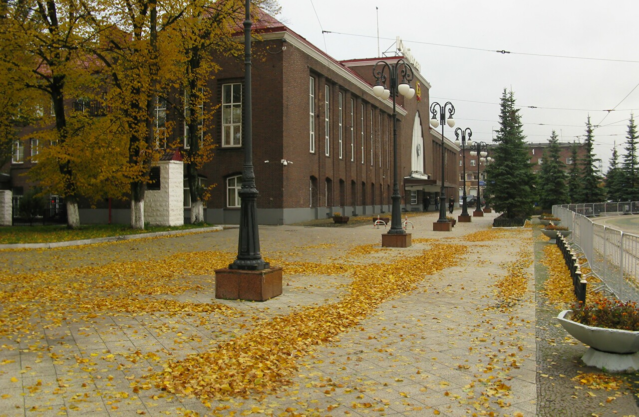 The Curonian spit, fall