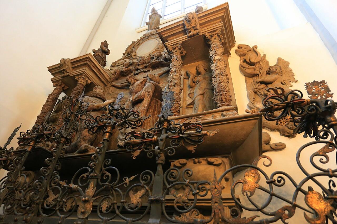 St. Marienkirche Interior, Berlin
