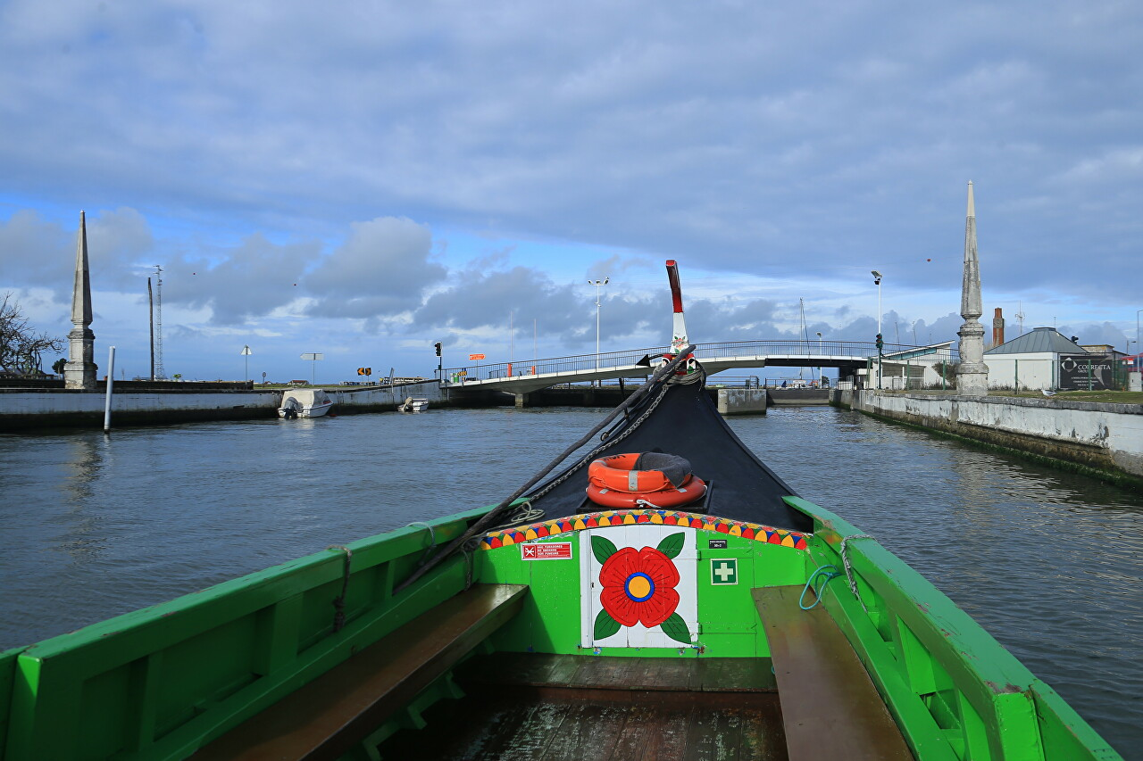 A Сruise Along the Canals of Aveiro