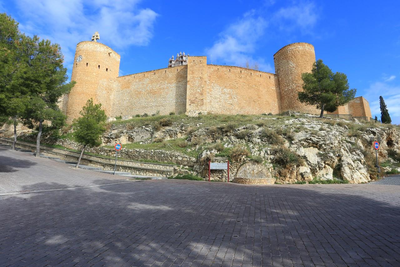 Castle Caravaca de la Cruz