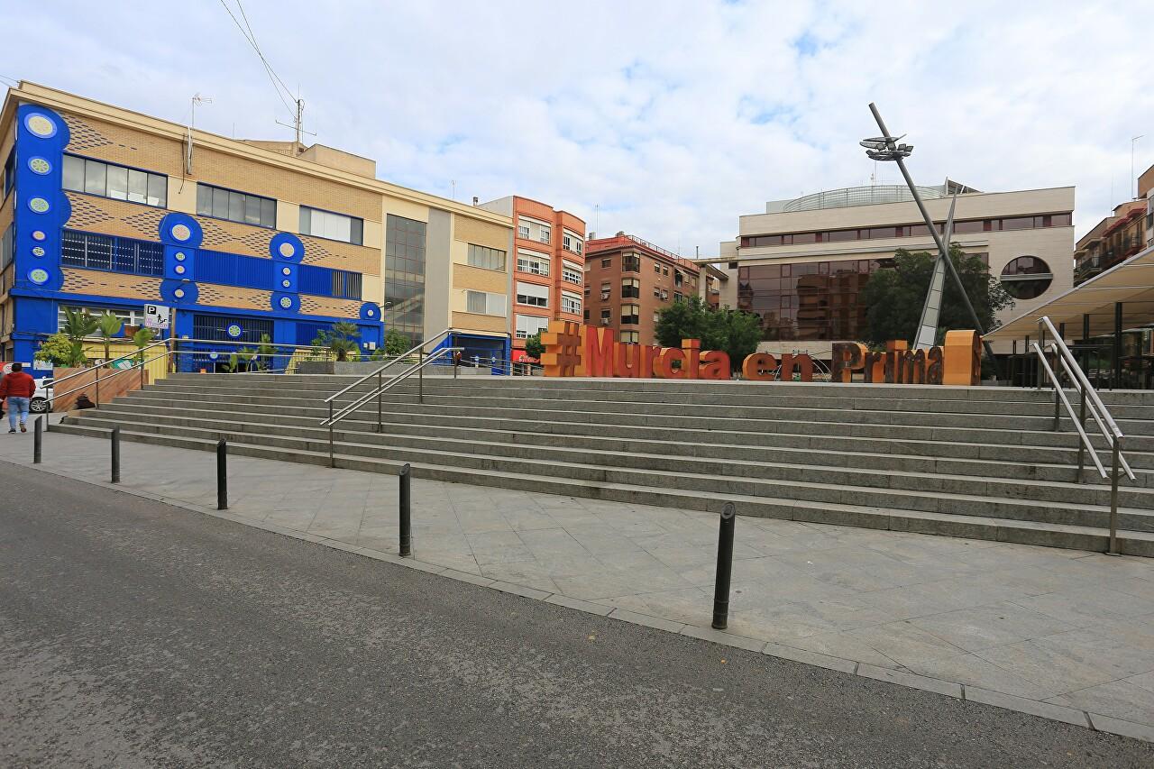Plaza de Europa, Murcia