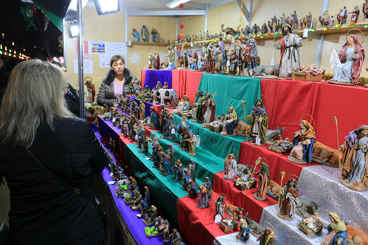 Opening of the Christmas Fair in Murcia
